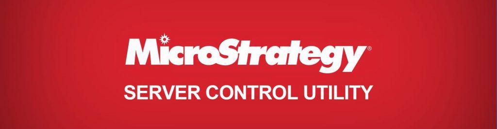 MicroStrategy Server Control Utility
