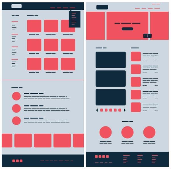 Leyes de la Gestalt Continuidad Dashboard