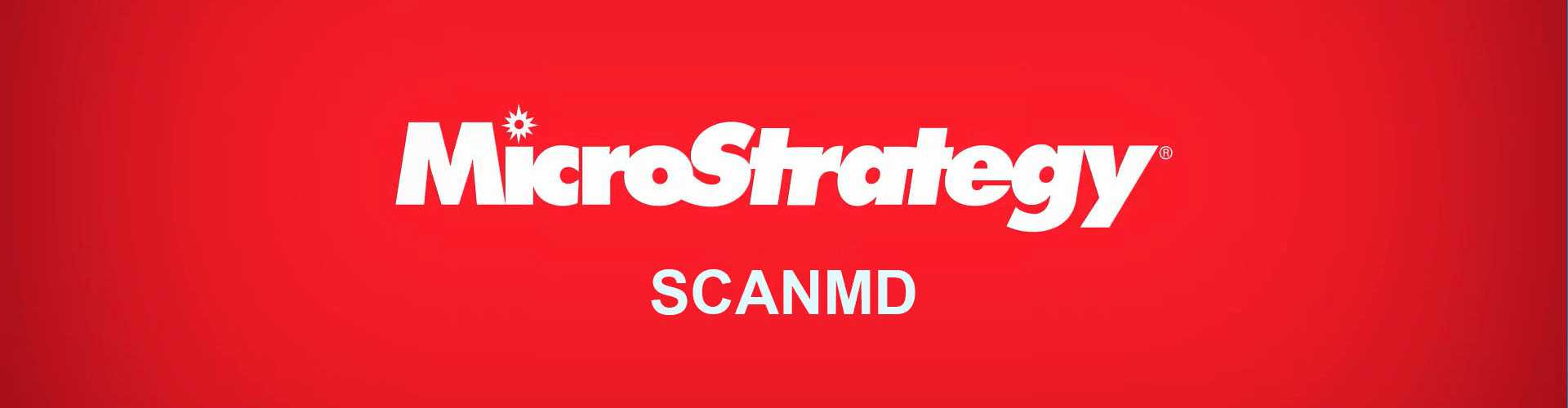 MicroStrategy ScanMD