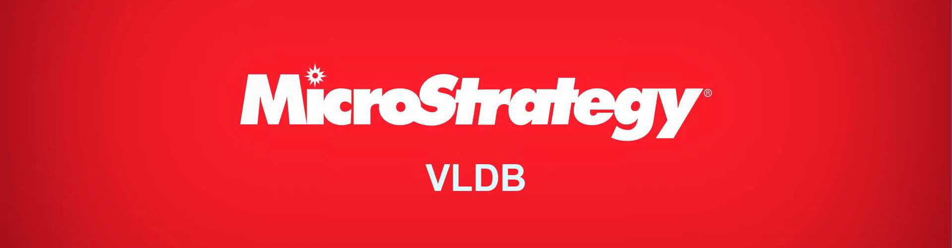 MicroStrategy VLDB